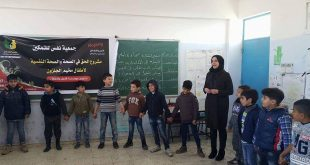 6/2/2017: Nafs for empowerment implemented a workshop for approximately 110 children from Jalazon Camp