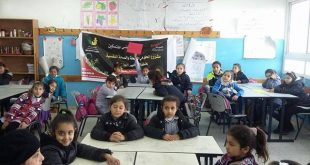 Nafs for empowerment implemented a workshop for approximately 60 children from Jalazon camp about health and human