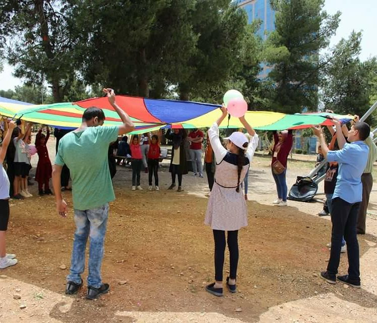 05\05\2018 – Nafs for Empowerment along with The Friends of Thalassemia Patients Association implemented a number of activities for the event of the International day of Solidarity with the patients of Thalassemia.