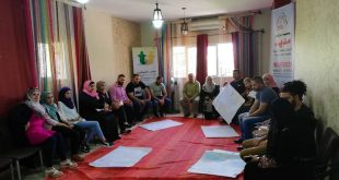 The accomplishment of Nafs psycho-social care program in Nablus City- in collaboration with Frontline and Madeed Center