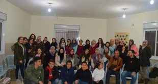 Teamwork and problem solving within the project of Psychological youth empowerment through volunteering in Kafr Malik