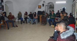 Teamwork and problem solving within the project of Psychological youth empowerment through volunteering in Silwad