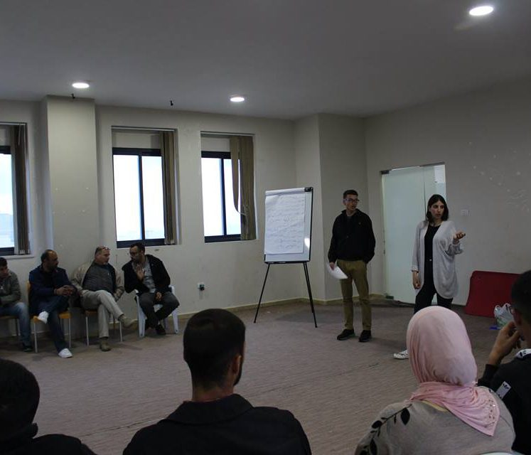 Psychological Youth Empowerment through volunteering in Al- Mazraa Al- Sharqiya