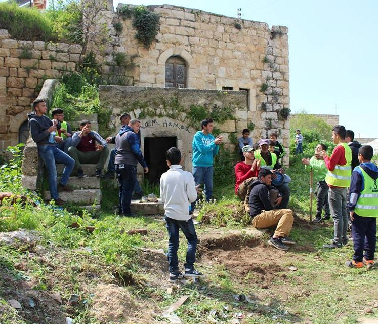 Wednesday 3/4/2019 Nafs for Empowerment Association held volunteer activities in the Earth Day in Silwad in cooperation with Silwad Cultural Center