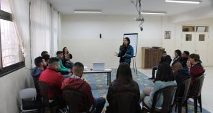 Psychological Youth Empowerment through volunteering in Taybeh. On Saturday 13/4/2019