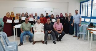 On 10/09/2019, Nafs for Empowerment in cooperation with Japanese NGO Frontline concluded the psychosocial care training for the students' families in Qalandia camp, as part of the psychosocial care project