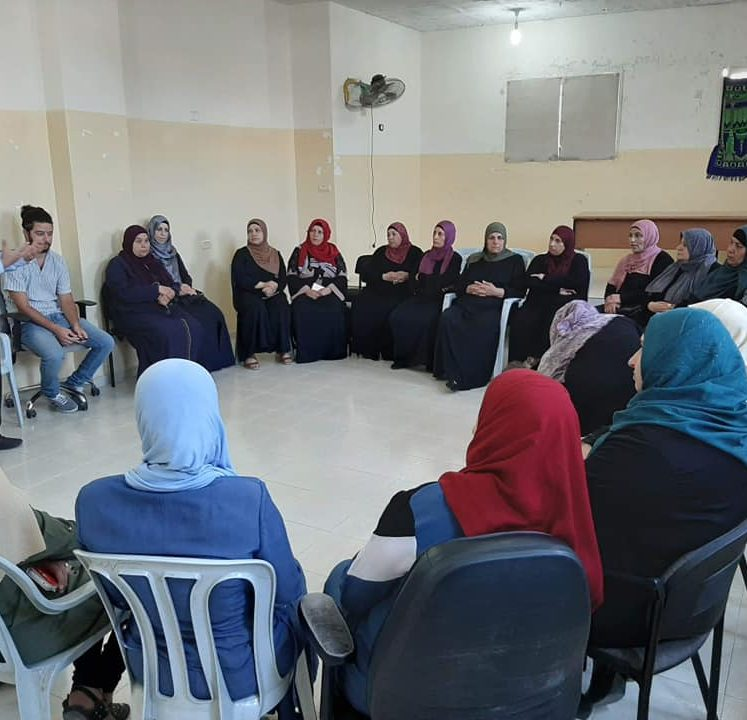 On 18/09/2019, Nafs for Empowerment in cooperation with Frontline Japaneese NGO, went on its psychosocial care training for students' families in Jalazoun camp
