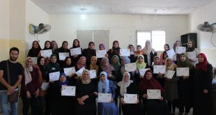 On 19/09/2019, Nafs for Empowerment in cooperation with Frontline Japaneese NGO, ends The psychosocial care training for students' families in Jalazoun camp.
