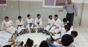 On 08/09/2019, Nafs for Empowerment implemented a workshop at Al-Zaeem Youth Club to activate the relationship with the surrounding community by doing many recreational activities for the youth, cubs and flowers of the club and karate players from Shotokan Karate Palestinian Center.