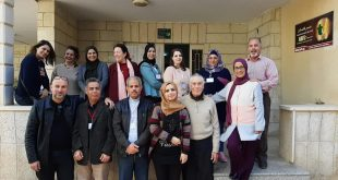 Sunday 12/1 The last day of Alternatives for Violence project training which was organized by Nafs for Empowerment and included 15 trainees from different cities
