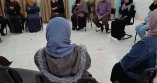Thursday, 12/12 /2019, 18 women from the Amari refugee camp participated in a workshop about psychological stress